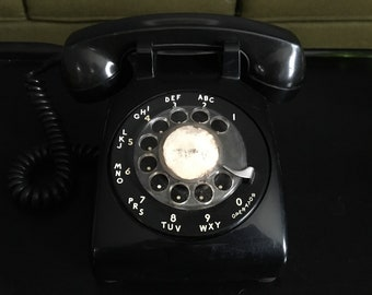Vintage Western Electric Rotary Desk Phone