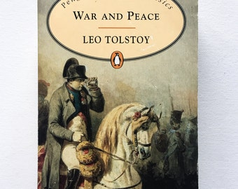 War and Peace / Leo Tolstoy / 1997 / Penguin Popular Classics / Vintage and Collectable