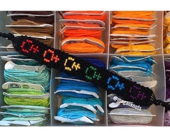 Rainbow Venus Symbol Bracelet