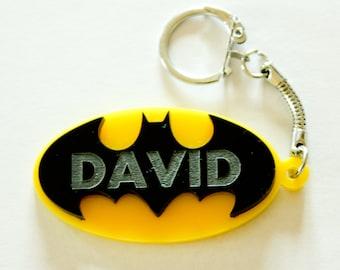 Batman keychain, keyring.