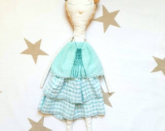"Ginette Split. ""Les Ginettes"" rag doll. A Rag Dolls Collection"