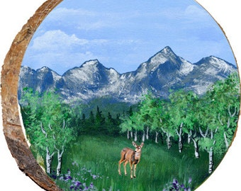 Summer Mule Deer - DAE134