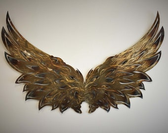 Ypsi Wings Metal Art Wall Art