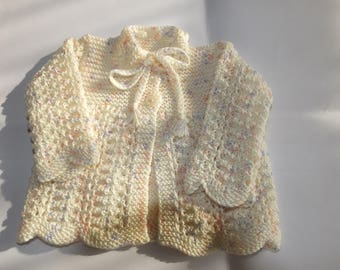 Baby Matinee Coat 0-3 Months