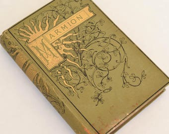 Marmion, Antique Book by Sir Walter Scott