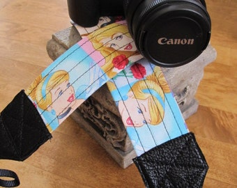Disney Princess Camera Strap Cinderella Ariel Belle Snow White Aurora