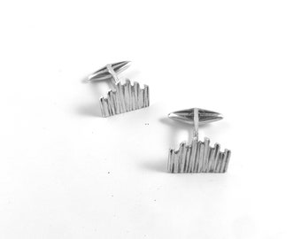 Milano DUOMO cufflinks in silver 925% handmade, Milan collection