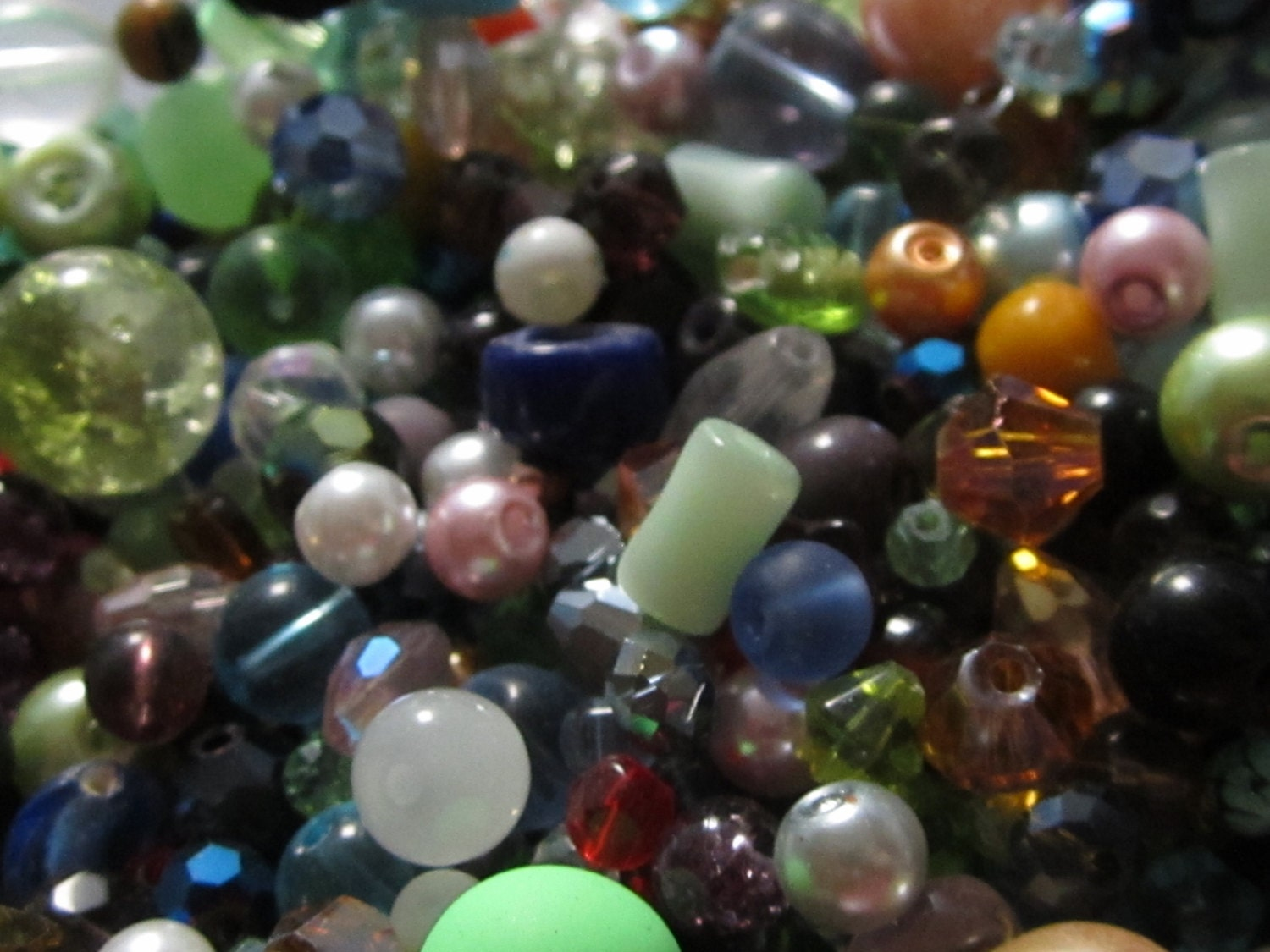 img in pressed fire glass strands beads czech buy bulk polished