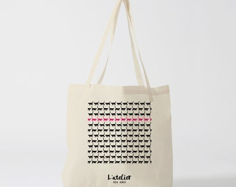 X108Y Tote bag online chat, bag canvas cotton bag, diaper bag, handbag, tote bag, bag of race, court bag, shopping bag