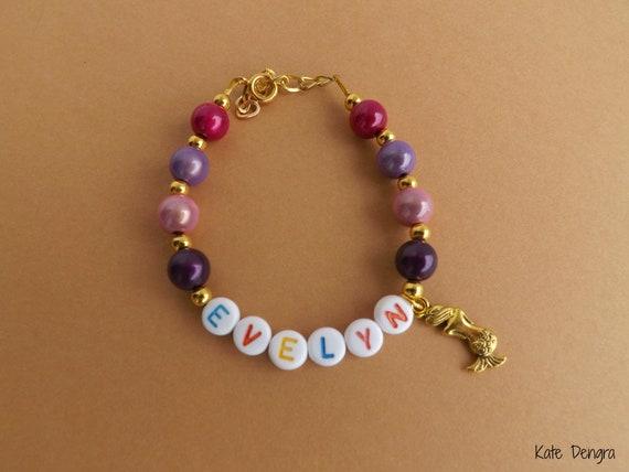 Mermaid Name Bracelet