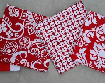 40% off SALE! - Precut Fat Qtr - 4 fabrics as pictured