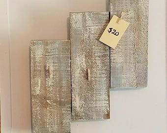 Wooden Picture Board for 1 3x4 and 2 wallets