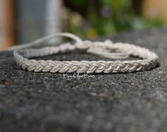 Braided Hemp Anklet