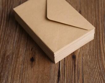 Kraft wedding envelopes/ wedding invitation envelopes/retro envelopes/brown envelope