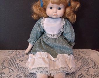Porcelain Doll, grumpy face, (# 702/wb)