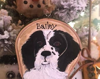 Hand Painted Pet Ornament