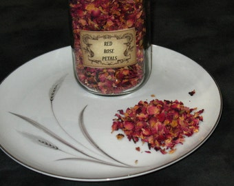 Red Rose Petals~Herb~Love~Beauty~Heart~Magick~Spells