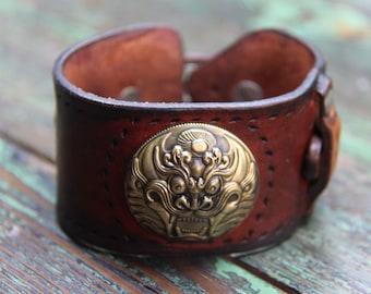 leather bracelet customizedw