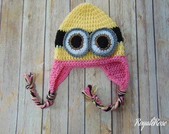 Minion Girls Hat