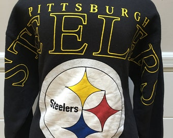 Vintage Pittsburgh Steelers Cliff Engle Sweater