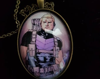 Hawkeye Cameo Necklace