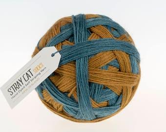 FRANK - vibrant hand dyed self striping sock yarn