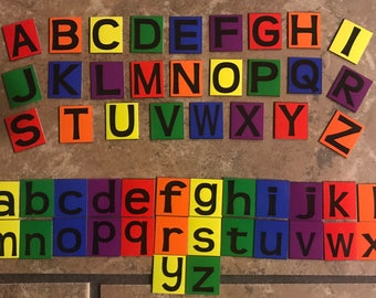 Alphabet and Numbers Magnet Set - 115 Pieces!