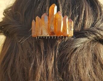 Beautiful Crystal Hair Comb