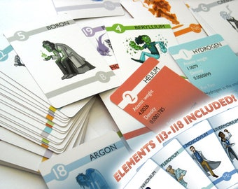 Elements - Experiments in Character Design Flash Cards (v.2)