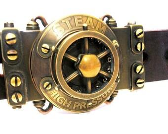 """Belt steampunk """"Belt Ship's Mechanic Steam Era"""""""