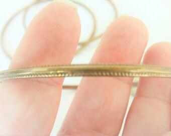 Vintage Copper Bracelets / Bangle Bracelets  / Hand Made Bracelets / Copper Jewelry / Thin Bracelets / Copper Bangles