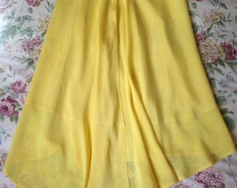 Vintage TUZZI Asymmetric Wrap Skirt - Size 40 (10)