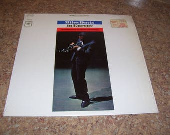 Miles Davis in Europe Live LP at the Antibes Jazz Festival 1963 BEAUTIFUL Vintage