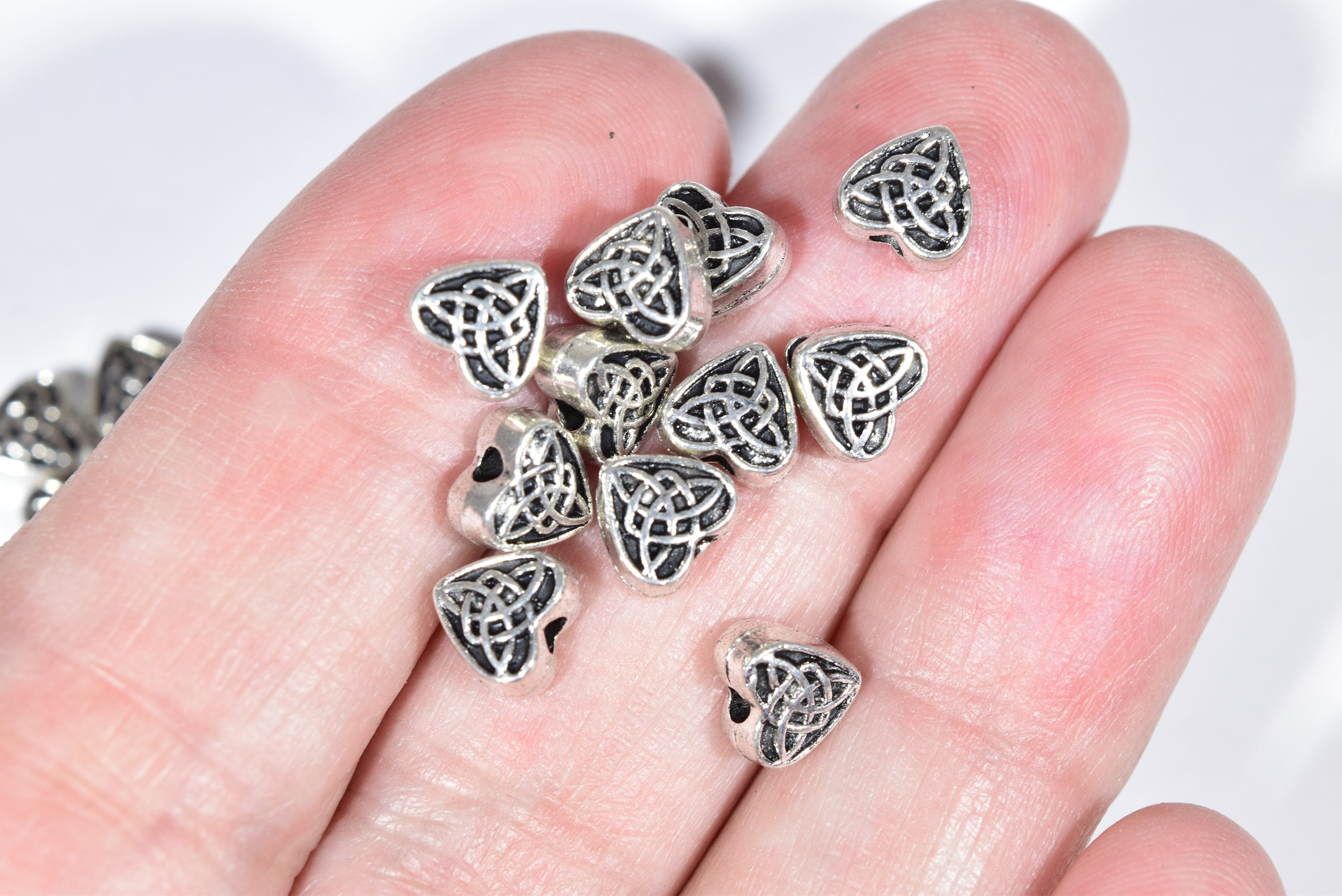 16 Spacer Beads 5 mm Celtic Knot Beads Celtic Beads 5 mm