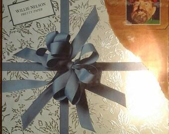 Willie Nelson - Pretty Paper AL-36189 Vinyl Record LP 1980