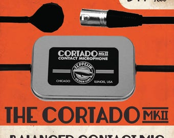 Cortado MkII Balanced Contact Mic Kit