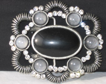 Belt Buckle, Rhinestone Belt buckle, Womens Belt Buckle with leather belt strap, Fashion belt