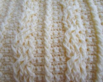 Crochet Pattern, Baby Blanket, Crochet Blanket, Afghan, PDF, Chunky Blanket, Throw Blanket, Crochet Afghan Pattern,  Tutorial, Haakpatroon