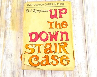 Autographed Book, Up The Down Staircase by Bel Kaufman, 1965, Hardcover