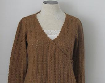 Alpaca, Hand Knit In Bolivia, Ladie's Sweater,The Sweater Venture