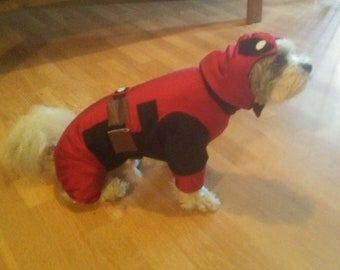 Deadpool, Deadpool dog costume, Halloween dog costume