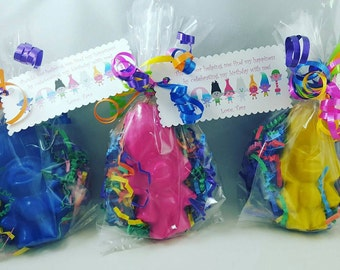 Trolls Crayon Favors/Birthday/Easter