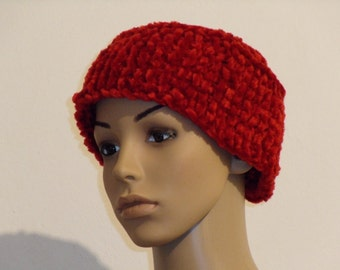 Knitted Cap made of bicycle urartigem yarn