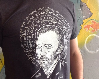 Saint Vincent the Perseverant- Vincent Van Gogh Artist Saint Shirt