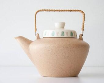 Vintage Metlox Poppytrail Navajo Mid Century Modern Teapot