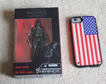 Darth Vader Figurine, Star Wars figure, in box