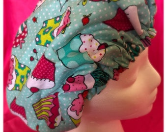 Sweet treats satin lined bonnet