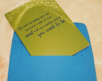 Role Model Thank You Card