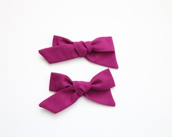 Vineyard Pig Tail Set - Vineyard Tie up Bow