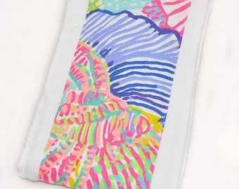 Lilly Pulitzer Burp Cloth - Lilly Pulitzer Roar of the Seas Burp Cloth - Ready to Ship